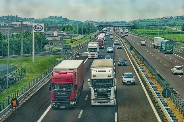 Spectacles et démonstration de conduite de camion