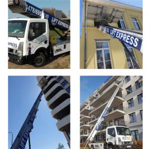 déménagement Wallonie avec lift