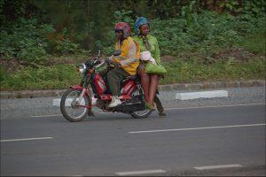 taxi-moto Indonésie