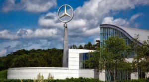 Garage Mercedes pour véhicules utilitaires